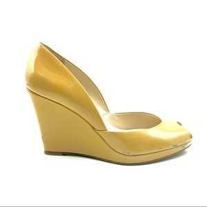 Kors Michael Kors Wedge Heel Peep Toe Shoes 8.5 M